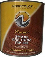 ЭМАЛЬ ПФ-266 красно-коричневая 0,9 кг