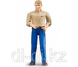 Фигурка Bruder мужчины голубые джинсы