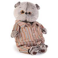 """Мягкая игрушка """"Басик в шелковой пижамке"""", 19 см"""