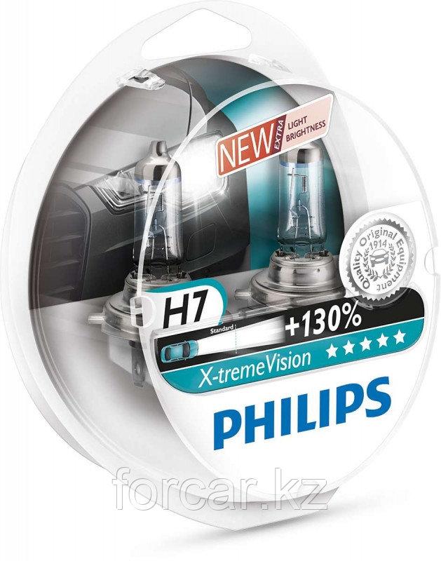 Автомобильная лампа H7 X-Treme Vision+130 12V S2 12972 PHILIPS