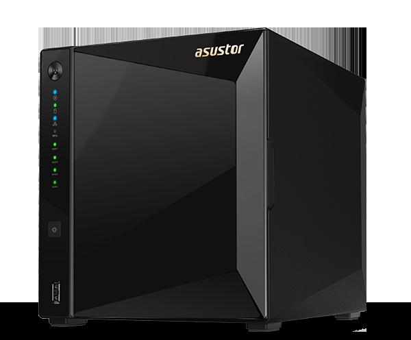 Сетевой накопитель ASUSTOR AS4004T 4-Bay NAS 1.6GHz Dual-Core ARM 2GB Gbe x2 10G x1 90IX0161-BW3S10