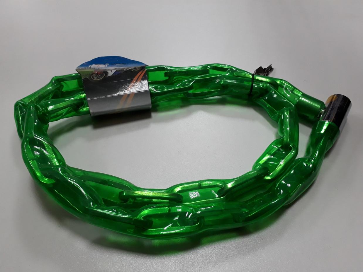 Противоугонная металлическая цепь для велосипеда 1,5 метра