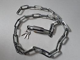 Противоугонная металлическая цепь для велосипеда - длина 1,3 метра
