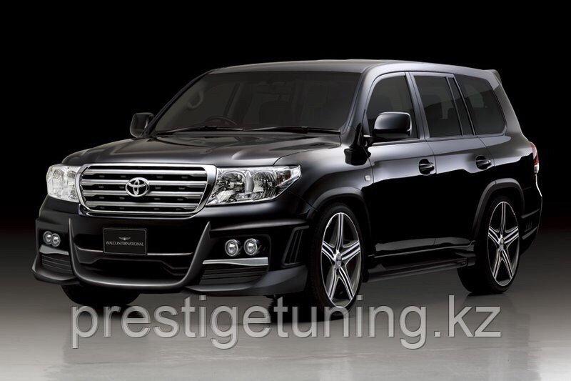 Обвес WALD Black Bison на Toyota Land Cruiser 200