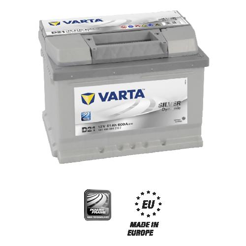 Аккумулятор для автомобиля VARTA 61Ah 561 400 060