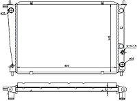 Радиатор HYUNDAI H1/H200/STAREX 2.5TD/2.6D 97-07