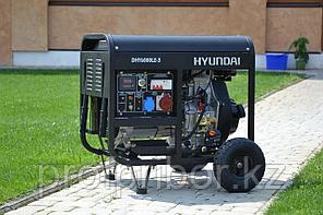 Электростанция дизельная Hyundai DHY 6000LE-3