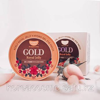 Petitfee Гидрогелевые патчи с королевским желе пчел для кожи вокруг глаз Koelf Gold Royal Jelly Hydro Gel Eye