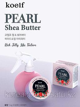 Koelf Гидрогелевые патчи для кожи вокруг глаз с жемчугом и маслом ши Pearl & Shea Butter Hydro Gel Eye Patch