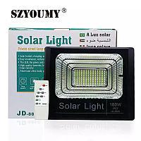 Solar Light Прожектор на солнечных батареях 100W с пультом управления