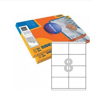 Этикетки самоклеящиеся Multilabel, А4, 105 х 70 мм., 8 шт/лист, 100 л.