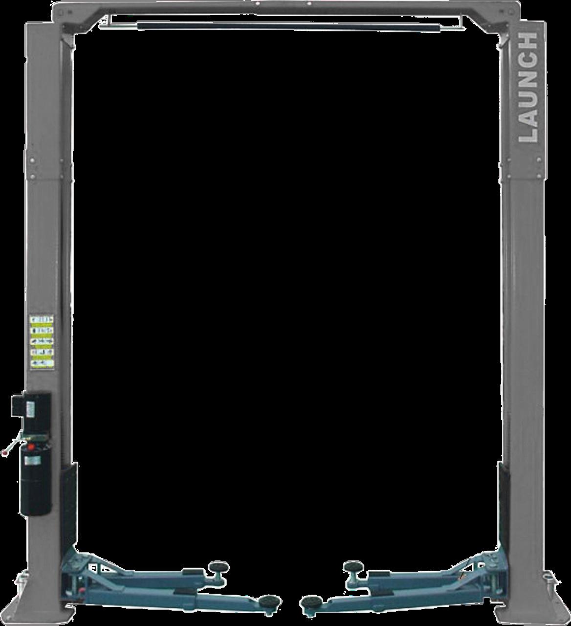 Подъемник двухстоечный LAUNCH TLT-245AT с верхней синхронизацией, г/п 4,5т., усиленные лапы
