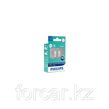 Автомобильная лампа W5W T10 LED WHITE 4000K ULW 12V 11961 PHILIPS, фото 2