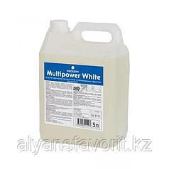 Multipower White - средство для мытья светлых полов. 5 литров. РФ