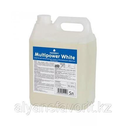 Multipower White - средство для мытья светлых полов. 5 литров. РФ, фото 2