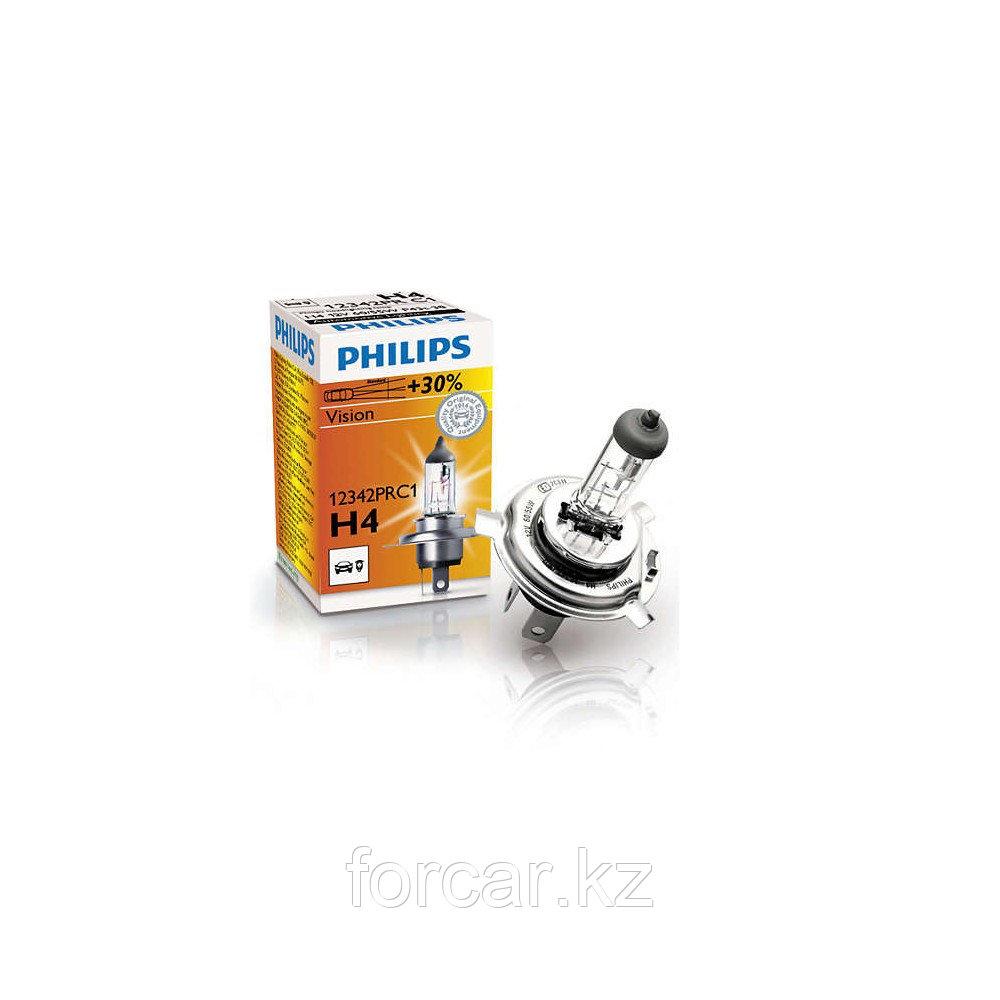Автомобильная лампа H4 PREMIUM 60/55W 12342 12V P43t-38 C1 PHILIPS