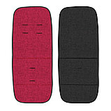 Коляска 2 в 1 Lorelli Verso + Сумка для мамы Черный-красный/ Black&Red 1900, фото 4