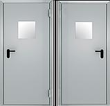 Дверь противоплжарная EI-60  светло серого цвета, фото 2