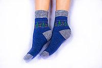 Носки женские, Олени синий, р-р 36-40