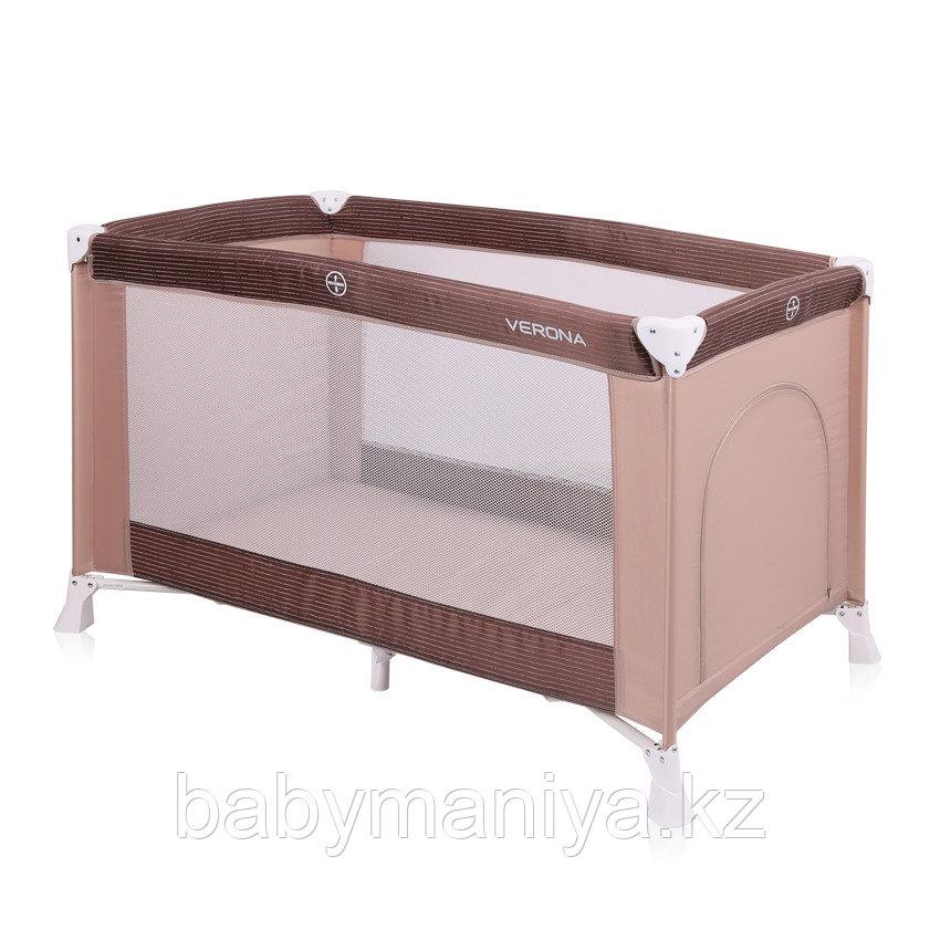 Кровать - манеж Lorelli VERONA 1 Бежевый / Biege 1813