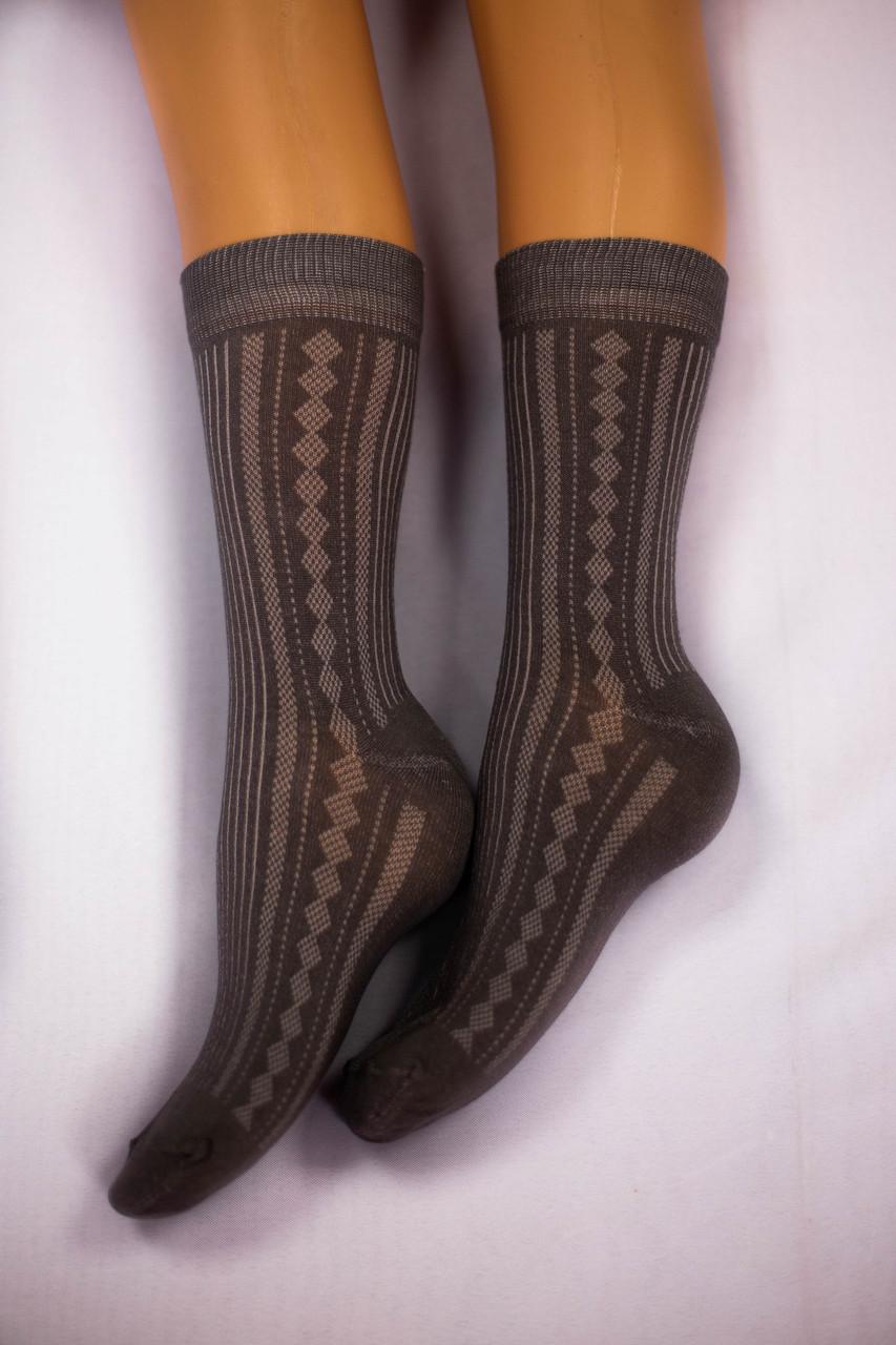 Носки мужские, темно-серые, р-р 41-43