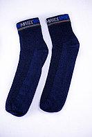 Носки мужские, спорт сетка синие, р-р 40-44