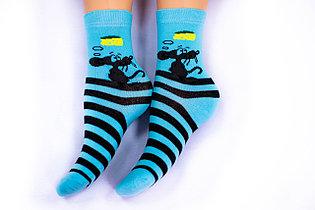 Носки подростковые, бирюзовые, р-р18-22