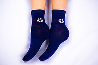 Носки подростковые, синие, р-р18-22