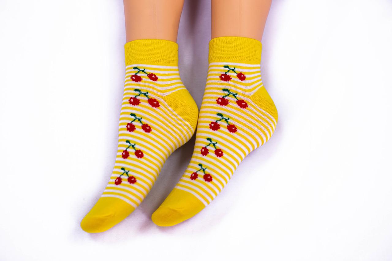 Носки женские, желтые, р-р 36-40
