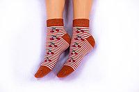 Носки женские, оранжевые, р-р 36-40