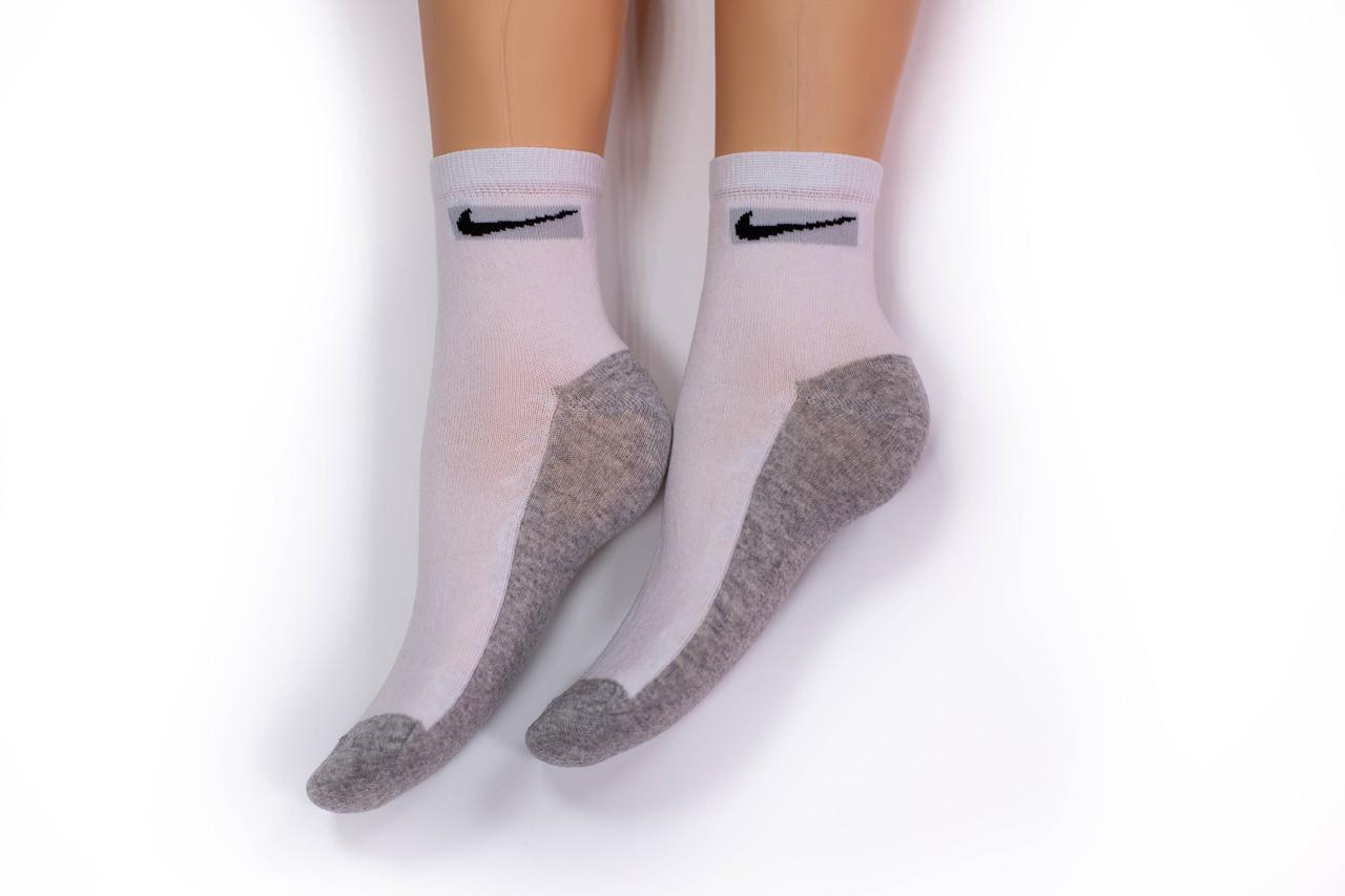 Носки женские, спорт удлиненные серые, р-р 36-40