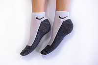 Носки мужские, спорт темно серые, р-р 40-44