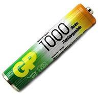 Аккумуляторная батарейка  GP AAA 1000mA   1.2v