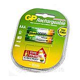 Аккумуляторная батарейка  GP AAA 1000mA   1.2v, фото 2