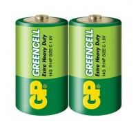 Батарейка GP Greencell C, LR14, 1.5V
