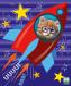 """Бумага цв Игр наб д/дет тв 8цв 8л газ блок скр А4 9309-EAC """"Кот в ракете"""" ГРИН"""