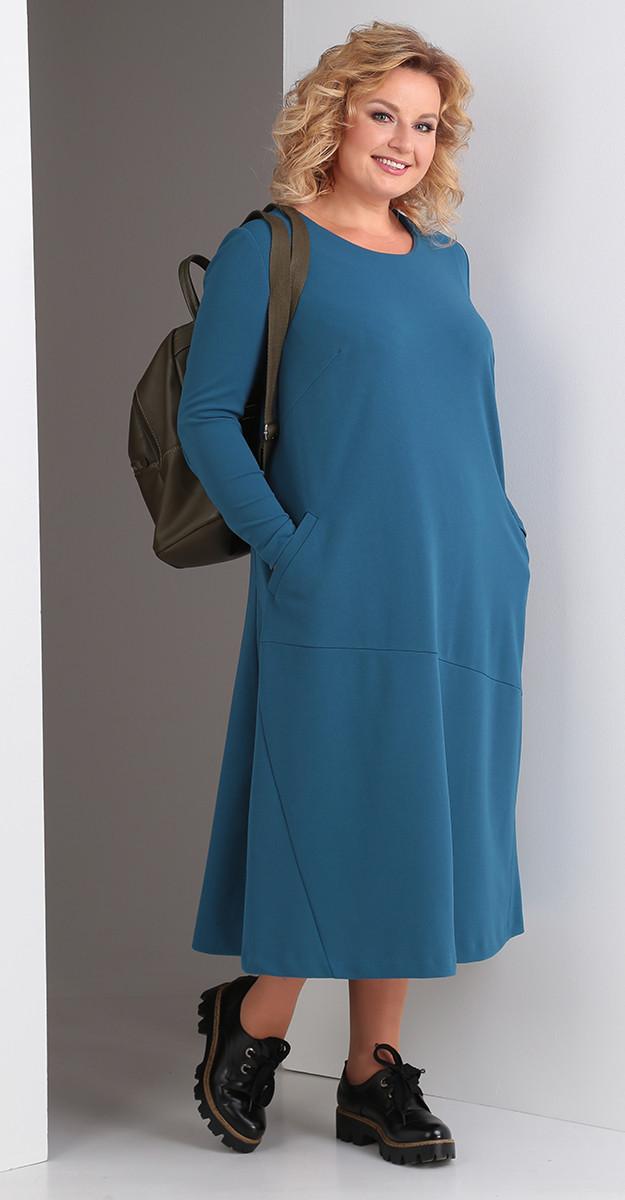 Платье Novella Sharm-3323-с, синий, 62