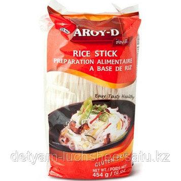 Безглютеновая Лапша Aroy-D Rice Stick Рисовая 5мм 454г