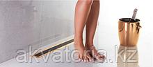 13100095 Душевой лоток Pestan Confluo Premium Black Glass Line 450 Gold