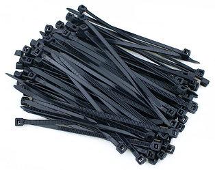 Хомут нейлоновый Cobra для стяжки, 3.6х200 мм, черный, 100 шт.
