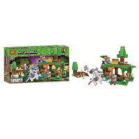 "Конструктор Bela 11138 ""Битва за сокровища"" (аналог Lego Майнкрафт, Minecraft), 327 деталей"