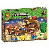 """Конструктор Bela 11134 """"Путешествие по Египту"""" (аналог Lego Майнкрафт, Minecraft), 203 деталей"""