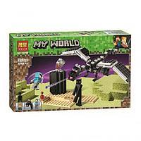 "Конструктор Bela 11169 ""Последняя битва"" (аналог Lego Майнкрафт, Minecraft 21151), 228 деталей, фото 1"