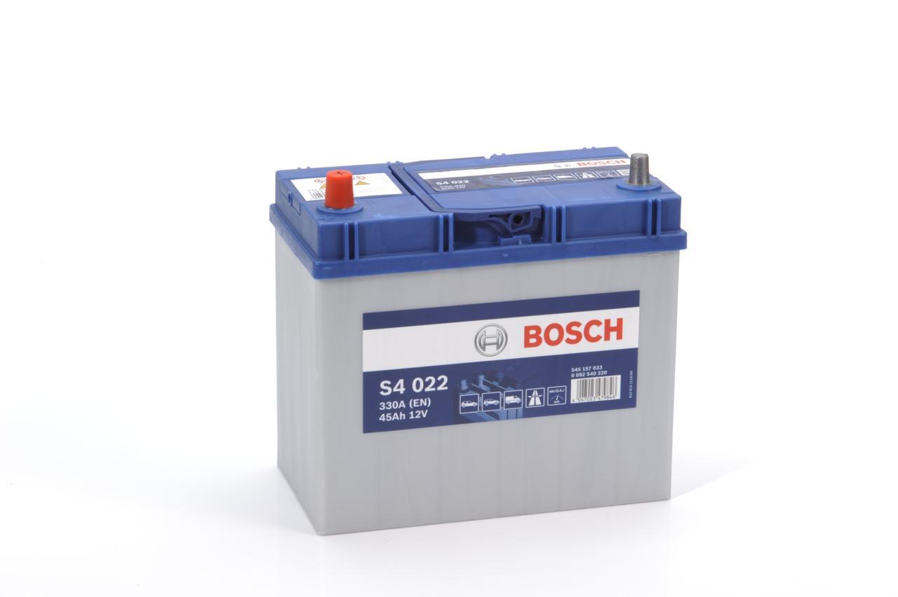 Аккумулятор автомобильный BOSCH 45Ah 545 157 033
