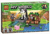 """Конструктор Bela 10962 Minecraft """"Голем на ферме"""" 219 деталей"""
