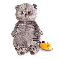 """Мягкая игрушка """"Басик и мышка"""", 19 см"""