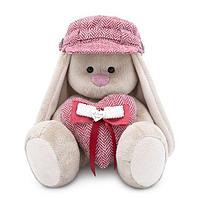 """Мягкая игрушка """"Zaika Mi"""" Зайка Ми в кепке и с сердечком (малый)"""