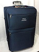 Большой дорожный чемодан на 4-х колесах Polo Collection. Высота 77 см, длина 44 см, ширина 28 см., фото 1