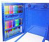 Набор для рисования и творчества c мольбертом 176 предметов в кейсе, фото 5