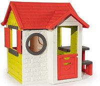 Игровой детский домик со столом и звонком